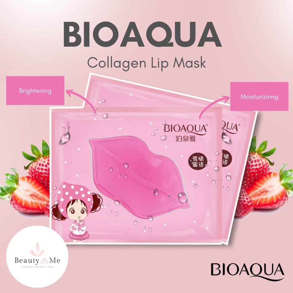 (1 pc) BIOAQUA Lip Sheet Lip Care Sheet Mask for Moisturizing Lips