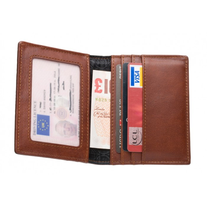 Card Holder for Men - Smart Business Leather Card Holder  (100% Genuine Leather Card Holder)