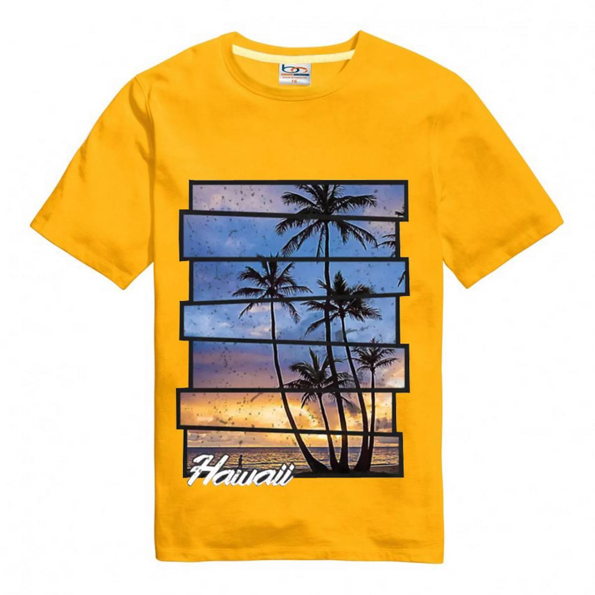 Bindas Collection Summer Digital Printed T-Shirt For Kids