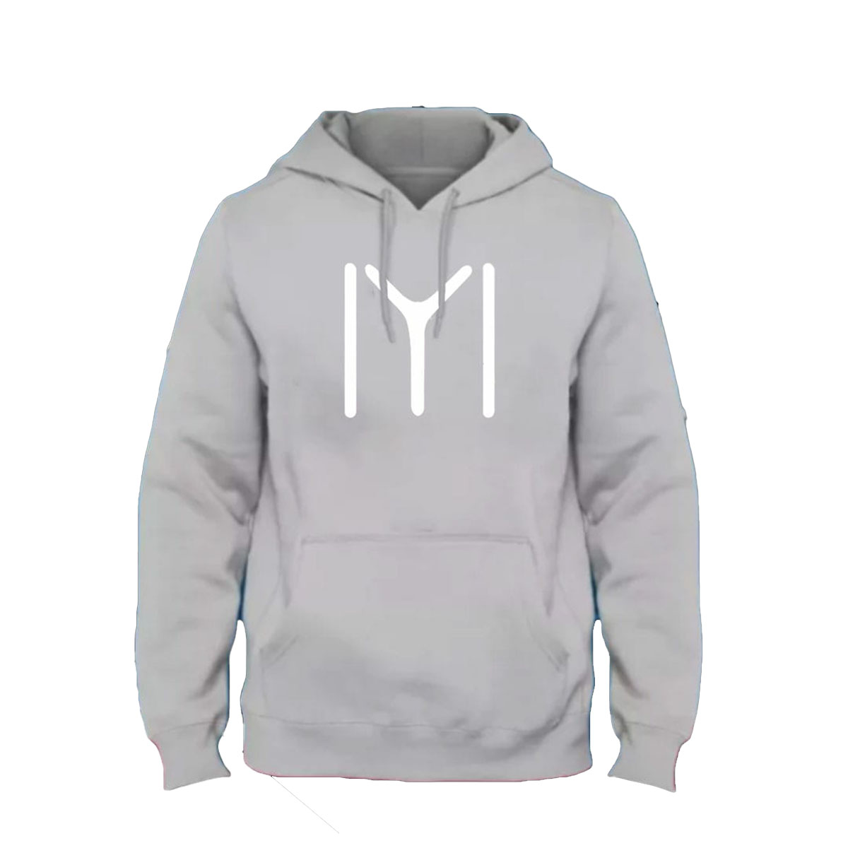 High quality imported casual ERTUGRUL IYI printed grey kangro hoodie pull over for winter