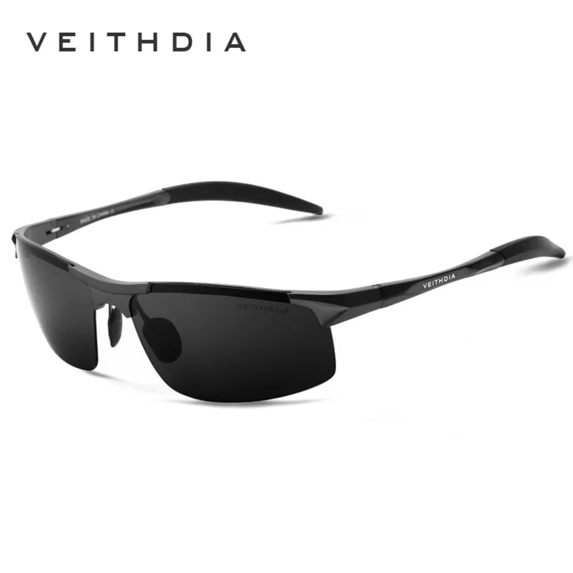 824953129be Aluminum Magnesium Mens Sunglasses Polarized Sun Glasses Uv400 - Black
