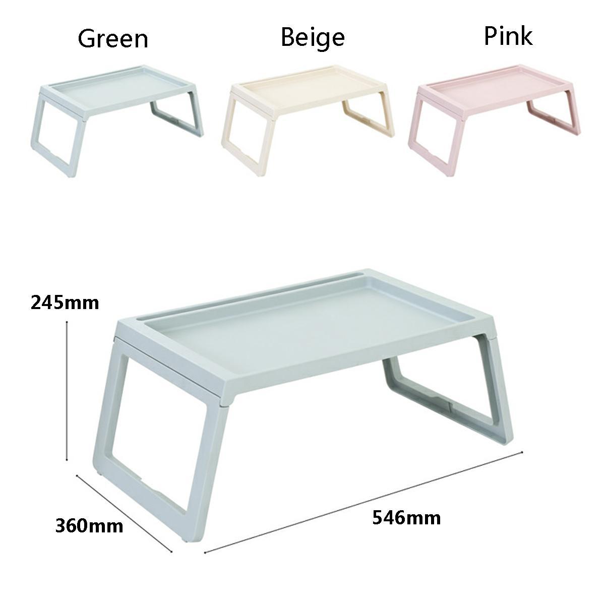 finest selection fd4e6 7820d Adjustable Folding Plastic Laptop Rack Shelf Dormitory Bed Stand Tray  Computer Desk 3 Colors