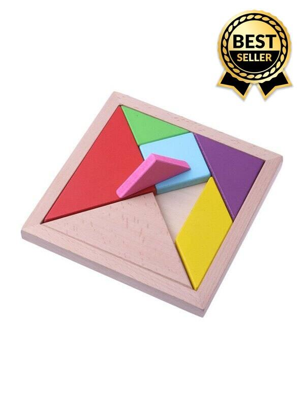 Wooden Educational Toy Jigsaw Puzzle for Kids