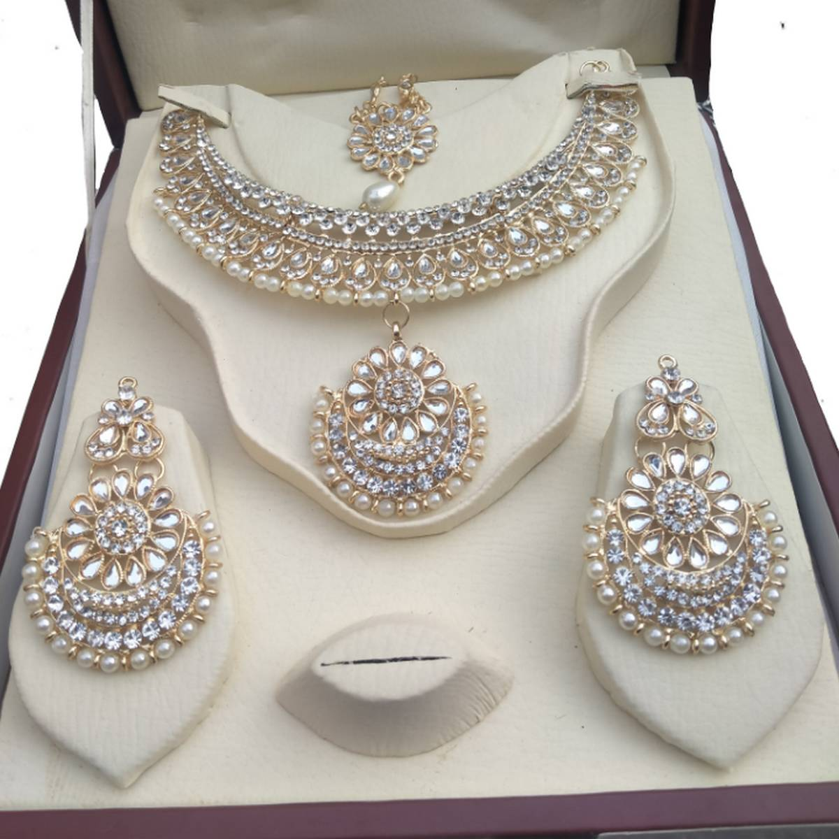 Necklace set for girls wedding jewelry set for women
