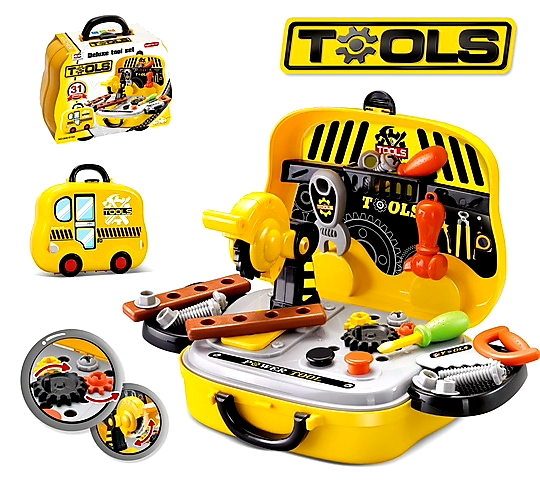 Tool Set BRIEFCASE TOY - Toys Gallery