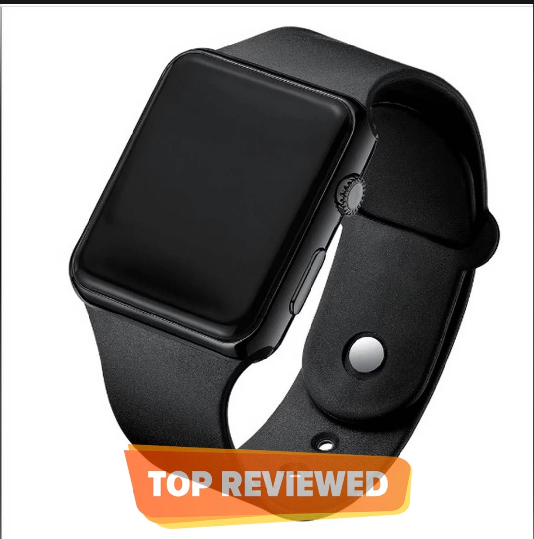 Quality Digital Watch Square LED Shockproof Multi-Functional Automatic Sports Watch for Men's Kids Watch for Boys - Watch for Men