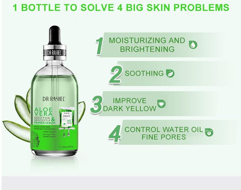 Aloe Vera Soothe & Smooth Primer Serum - 100ml: Buy Online at Best Prices  in Pakistan | Daraz.pk