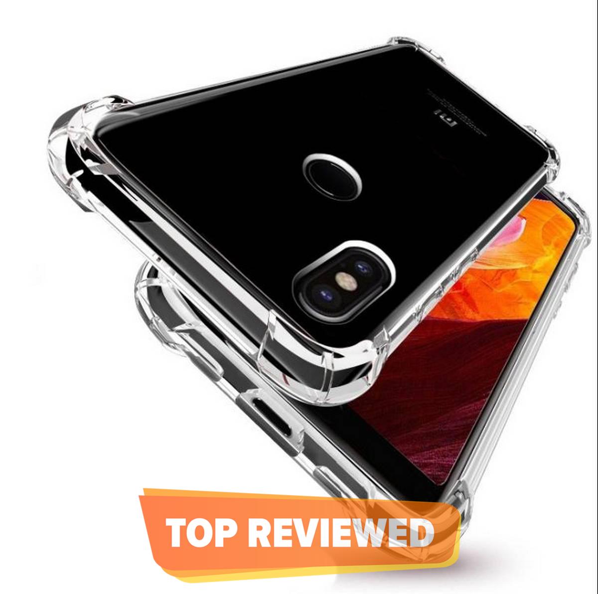 Xiaomi Redmi Note 5 Pro Antishock Drop Resistance Transparent Tpu Case Silicone Back Cover