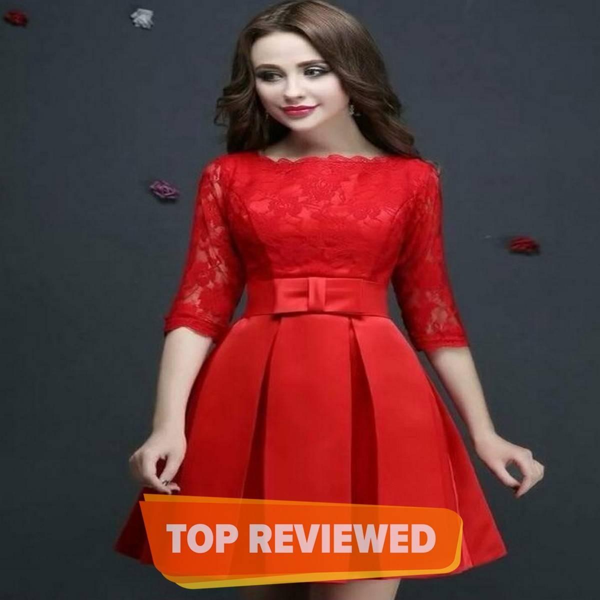 RED NET Silk Top For Women