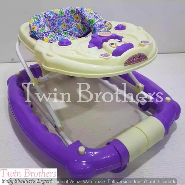 Baby 2-1 Walker Rocking & swing with Cat Design & Lights Music