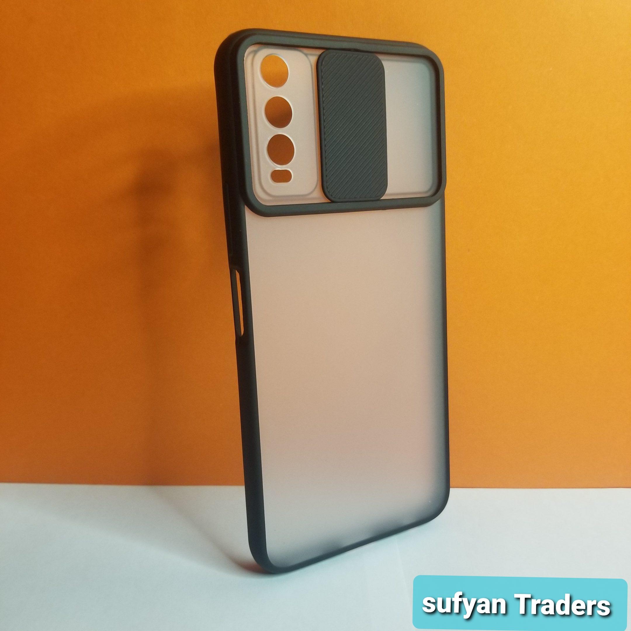 vivo_Y20 window slide camera protection matte back cover case Premium Luxury Highest Quality for vivo_ y20