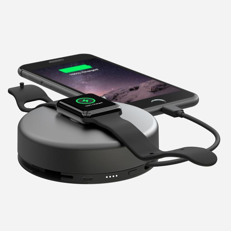 NOMAD Mobile and Watch Charger for IPHONE