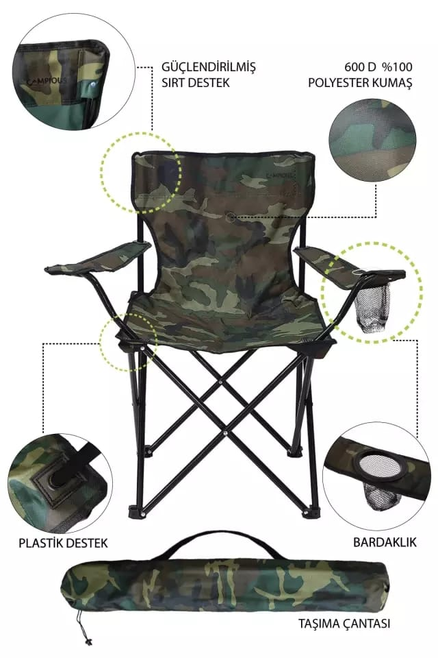 Folding Chair for Hiking – Camping – Travelling