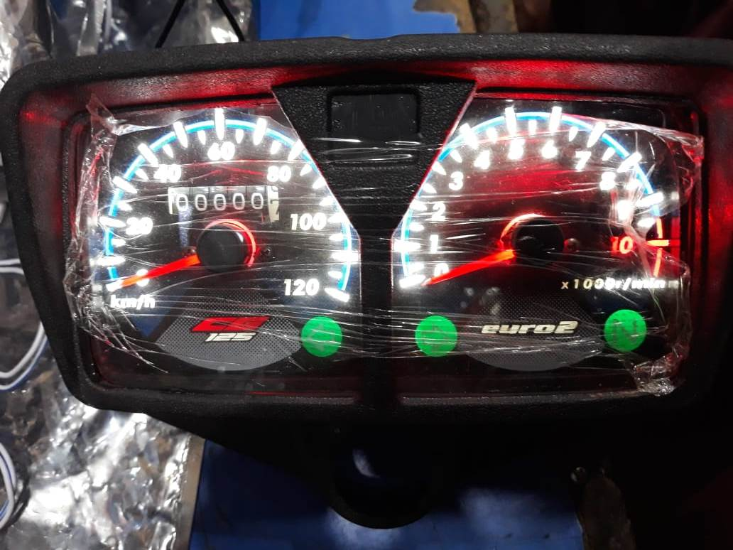 White Led Backlight Meter Speedometer For Cg 125 Motorcycle Euro 2 Buy Online At Best Prices In Pakistan Daraz Pk