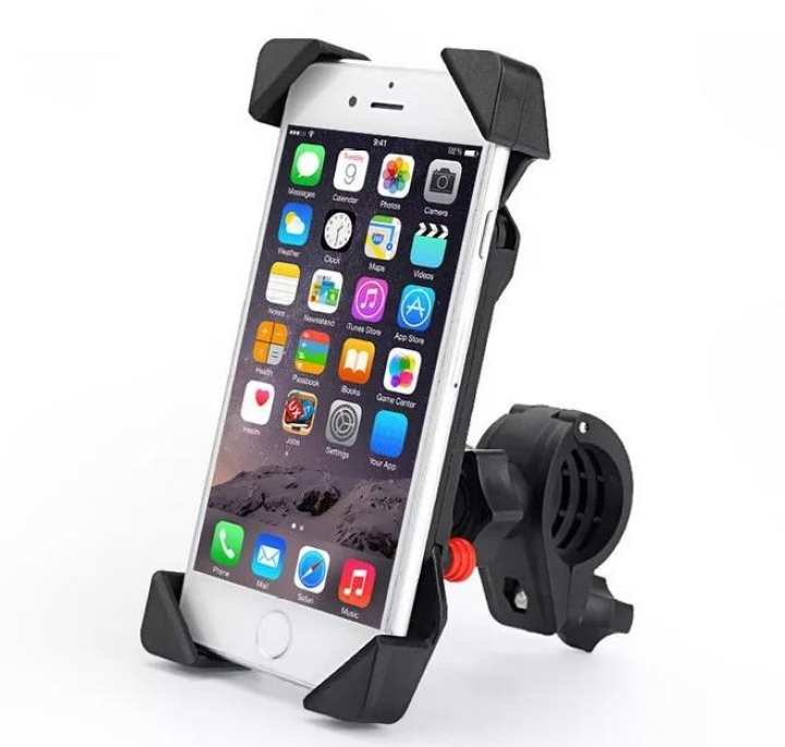 MOBILE HOLDER FOR MOTORCYCLE Universal 360 Degree Rotation