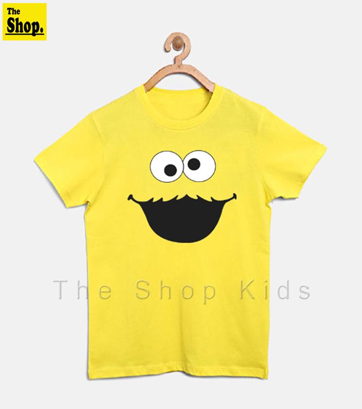 The Shop - Cookie Monster T Shirt For Boys & Girls Kids - CM-YG2
