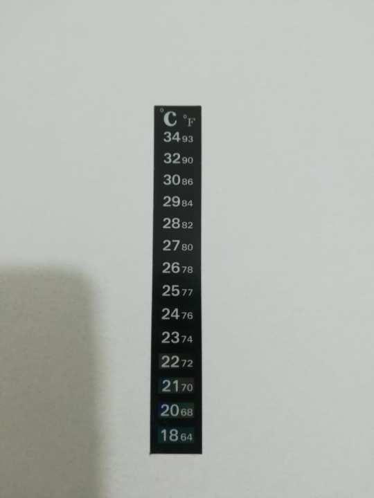 Aquarium Fish Tank Thermometer Temperature Sticker