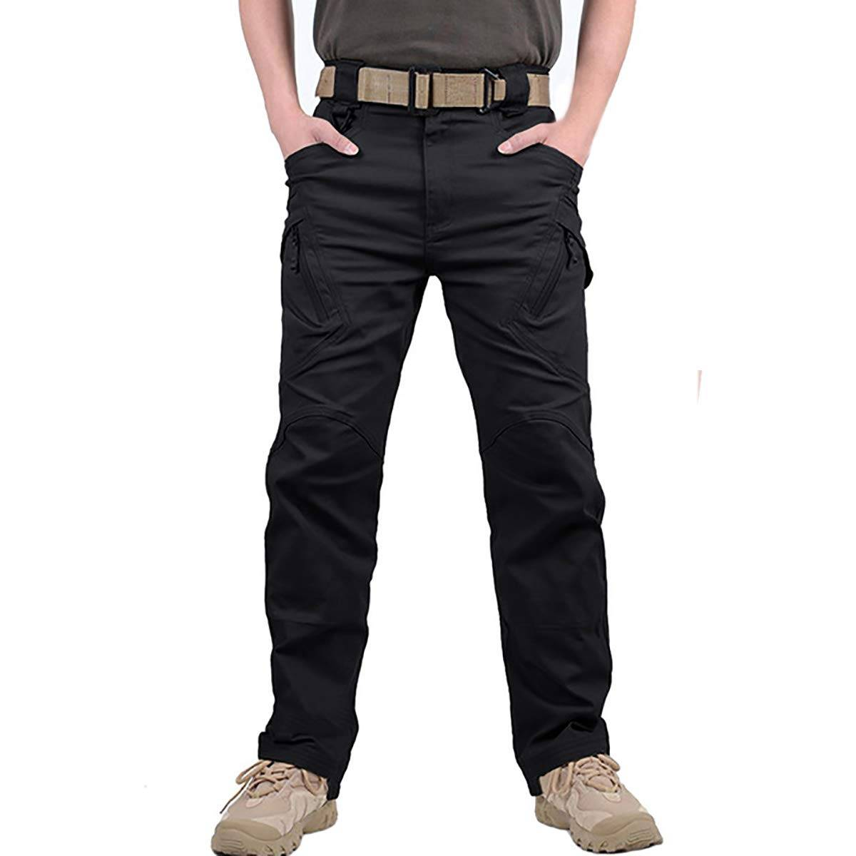 Men cargo trouser Black CT-011