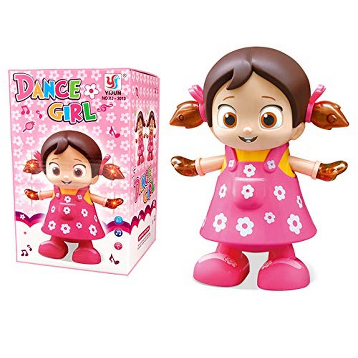 Dancing Girl YIJUN Musical Fun Toy with Flash Light