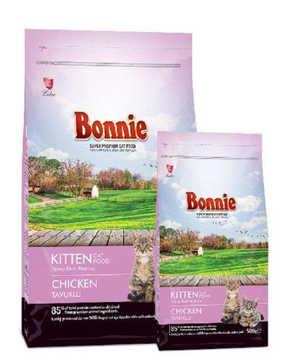BONNIE KITTEN FOOD CHICKEN 1.5Kg