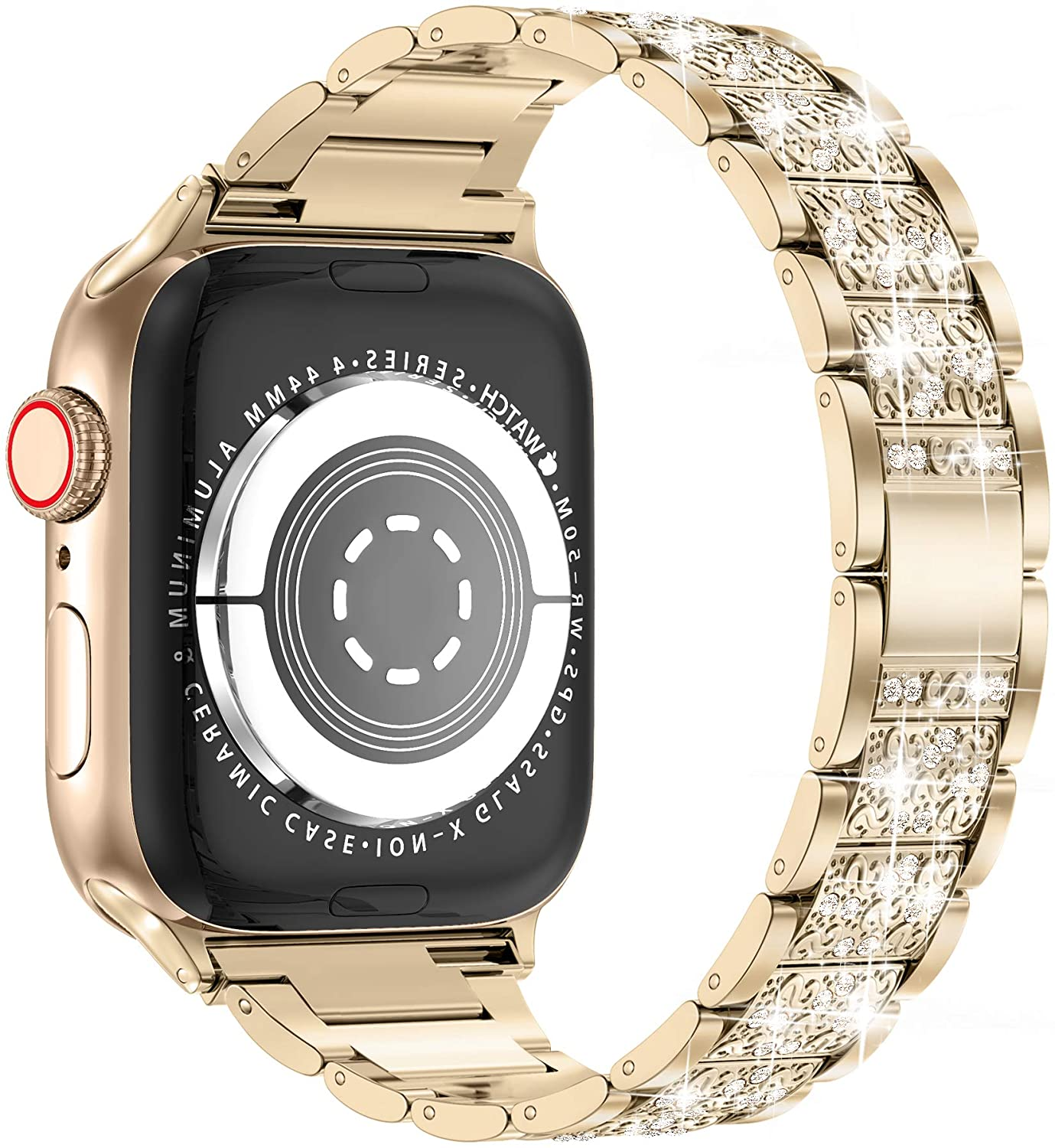 Apple Watch Band 42mm 44mm Series 5 Series 4 3 2 1 Bling Replacement Bracelet Iwatch Band Buy Online At Best Prices In Pakistan Daraz Pk