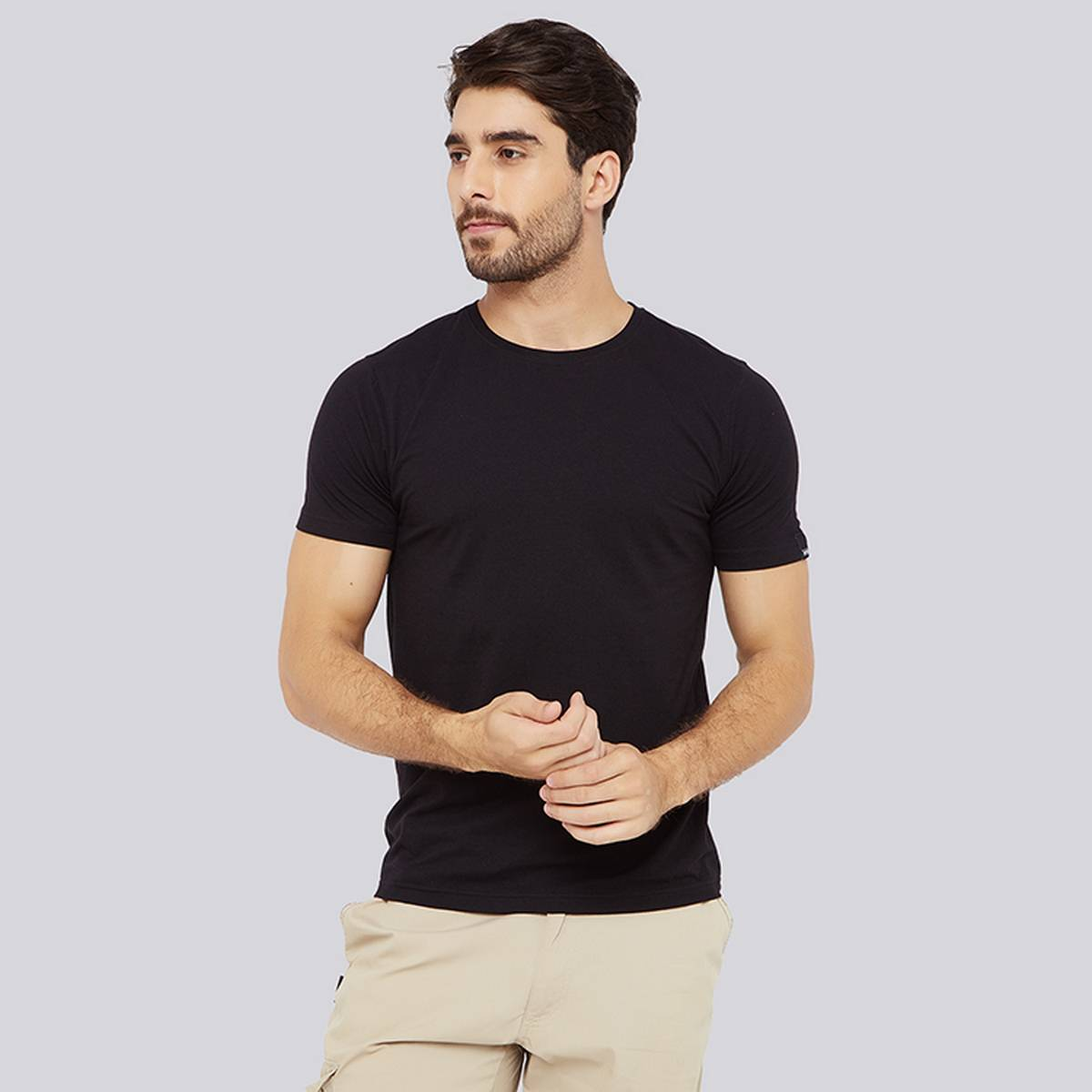 Summer Tee Shirts Jersey Cotton Short Sleeves Plain T-Shirts for Men Workout and Casual Wearing