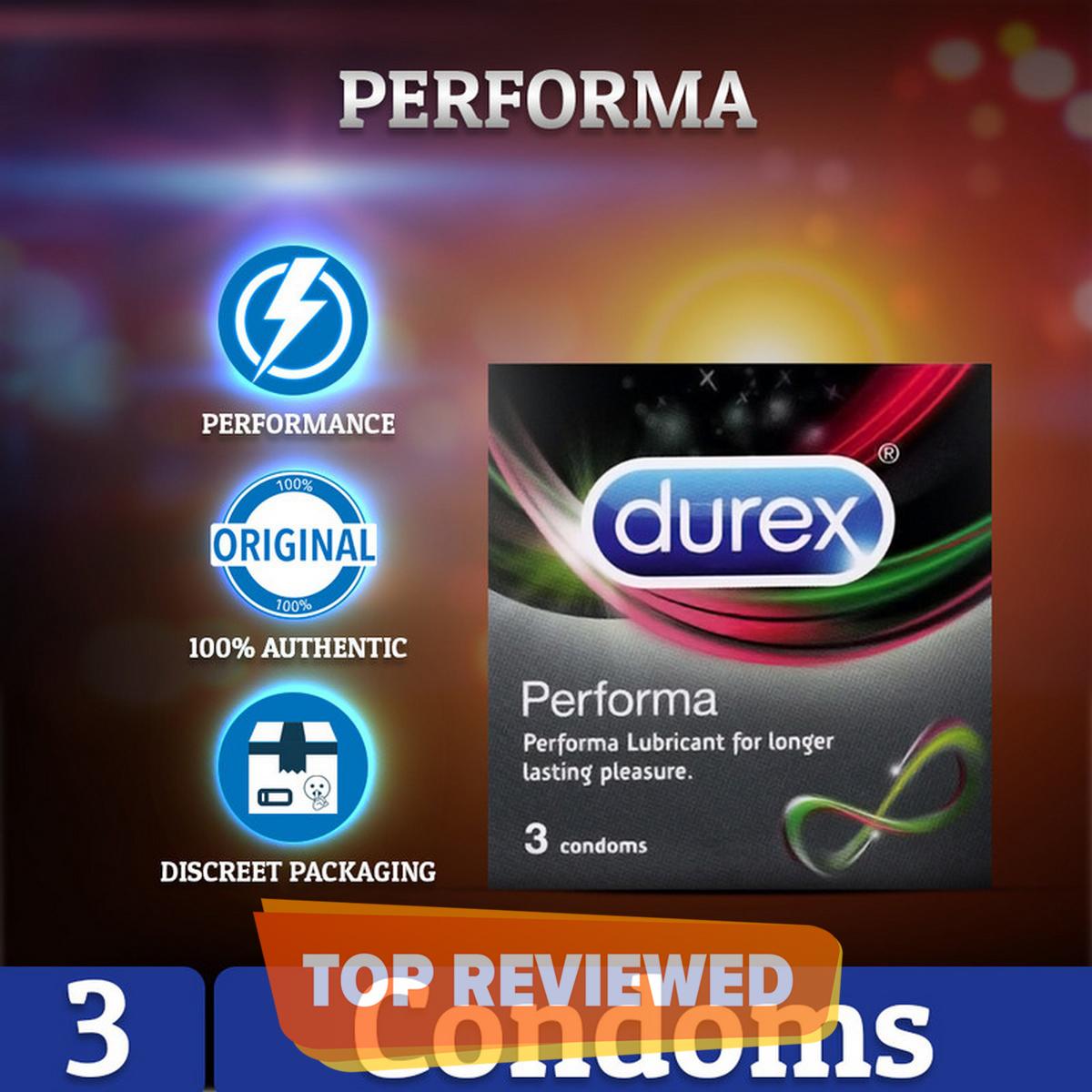 Durex Performa Pack of 3 Sachets