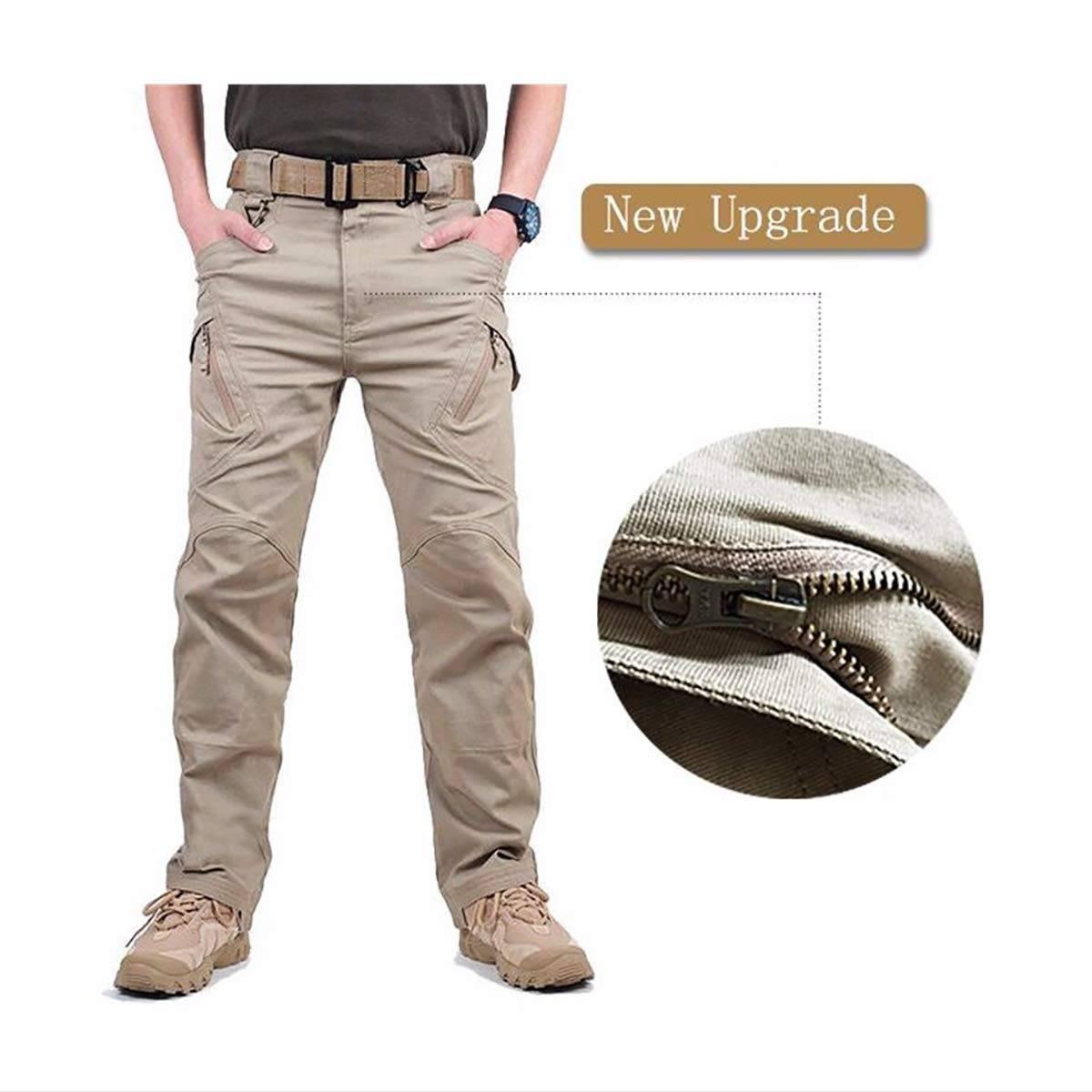 Men cargo trouser Khaki CT-011