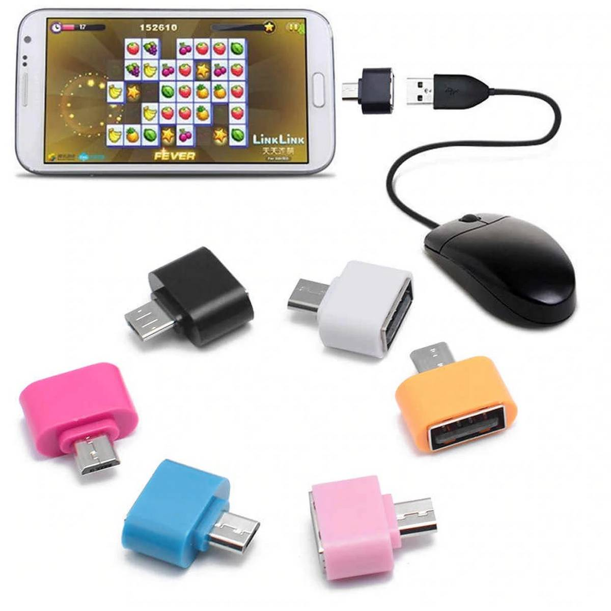 Top Selling Otg Usb Flash Drive for Smartphone and Tablets - Multi colors