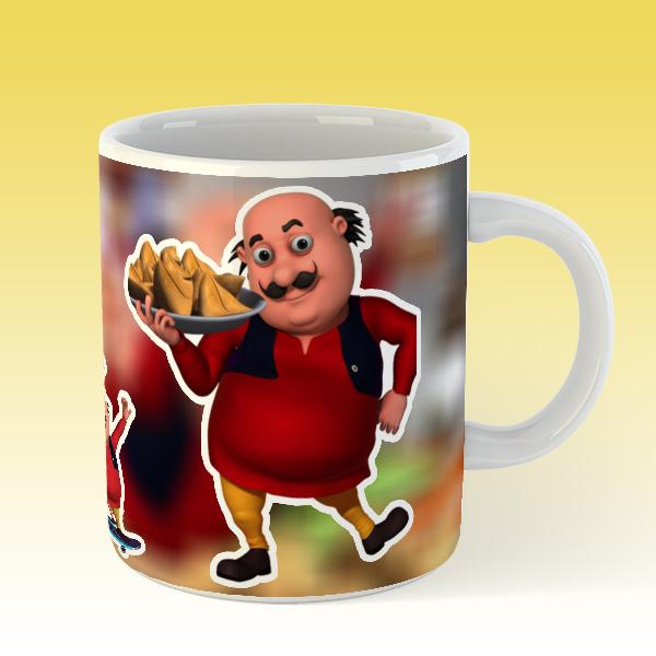 Buy Mug Motu Patlu Mugs for Kids/ Best Cartoon Mug for Kids/ The Mug City:  Buy Online at Best Prices in Pakistan | Daraz.pk