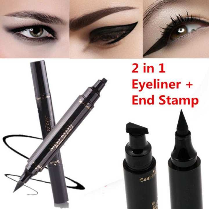Miss Rose 2 in 1 Magic Eyeliner With Stamp