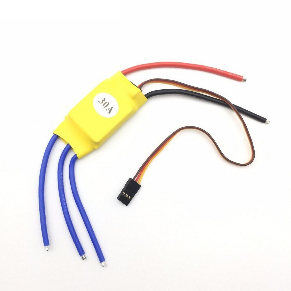 Electronic Speed Control (ESC) 30 Amp 30A Brushless RC BEC ESC Brushless Motor Speed Controller T-rex 450 V2 Helicopter Boat I403 Airplanes Parts & Accessories