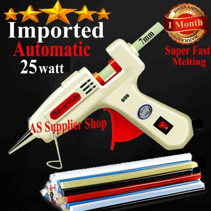 Imported Automatic HENGLIDA 220volt Thermostat Electric Glue Gun Hot Melt Glue Gun Hot Melt Silicone Glue Gun Rod Sticks Bond Arts Crafts Best Glue Gun