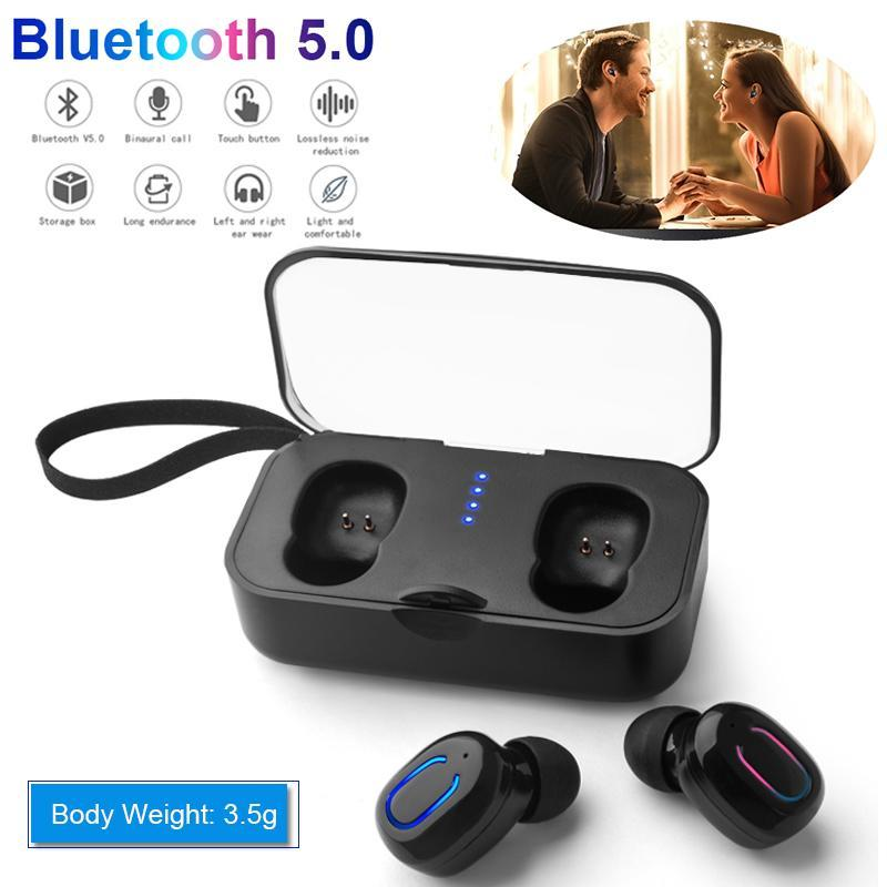 ff5955af679 Tohayie Tohayie TI8S TWS Bluetooth 5.0 Earphones Wireless Stereo In-Ear  Headphone Sports Earbuds with