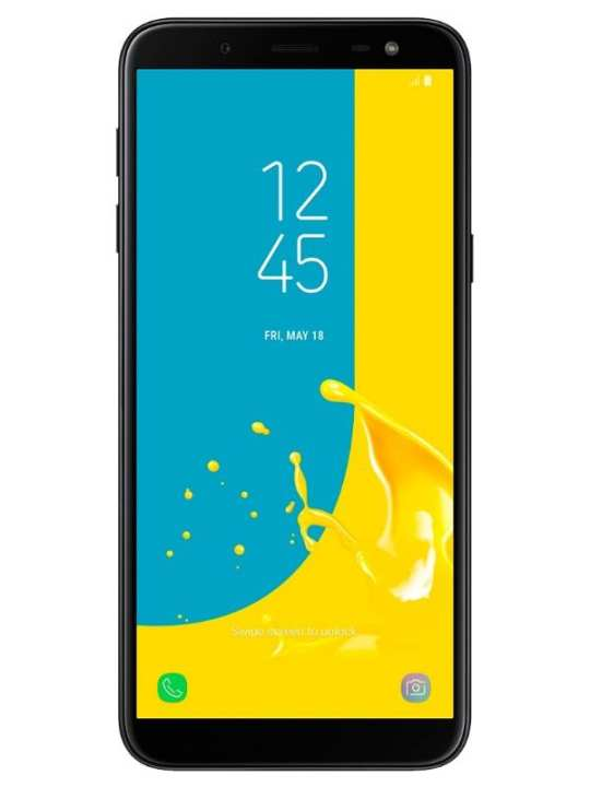 "Galaxy J6 2018 (J600F) - 5.6"" - 3GB 32GB - 16MP - LTE - Black"