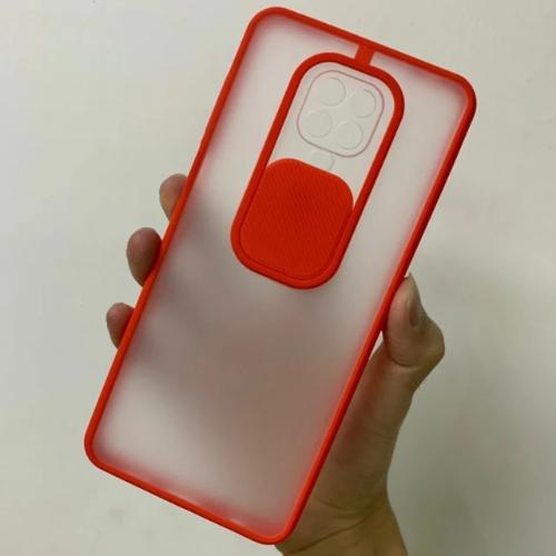 Camera Protection Case For Xioami Redmi Note 9S Soft Tpu Window Slide Case