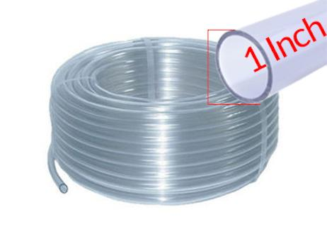 Flexible Transparent Garden 1 inch Pipe PVC Pipe 25 Feet 50 Feet 100 Feet