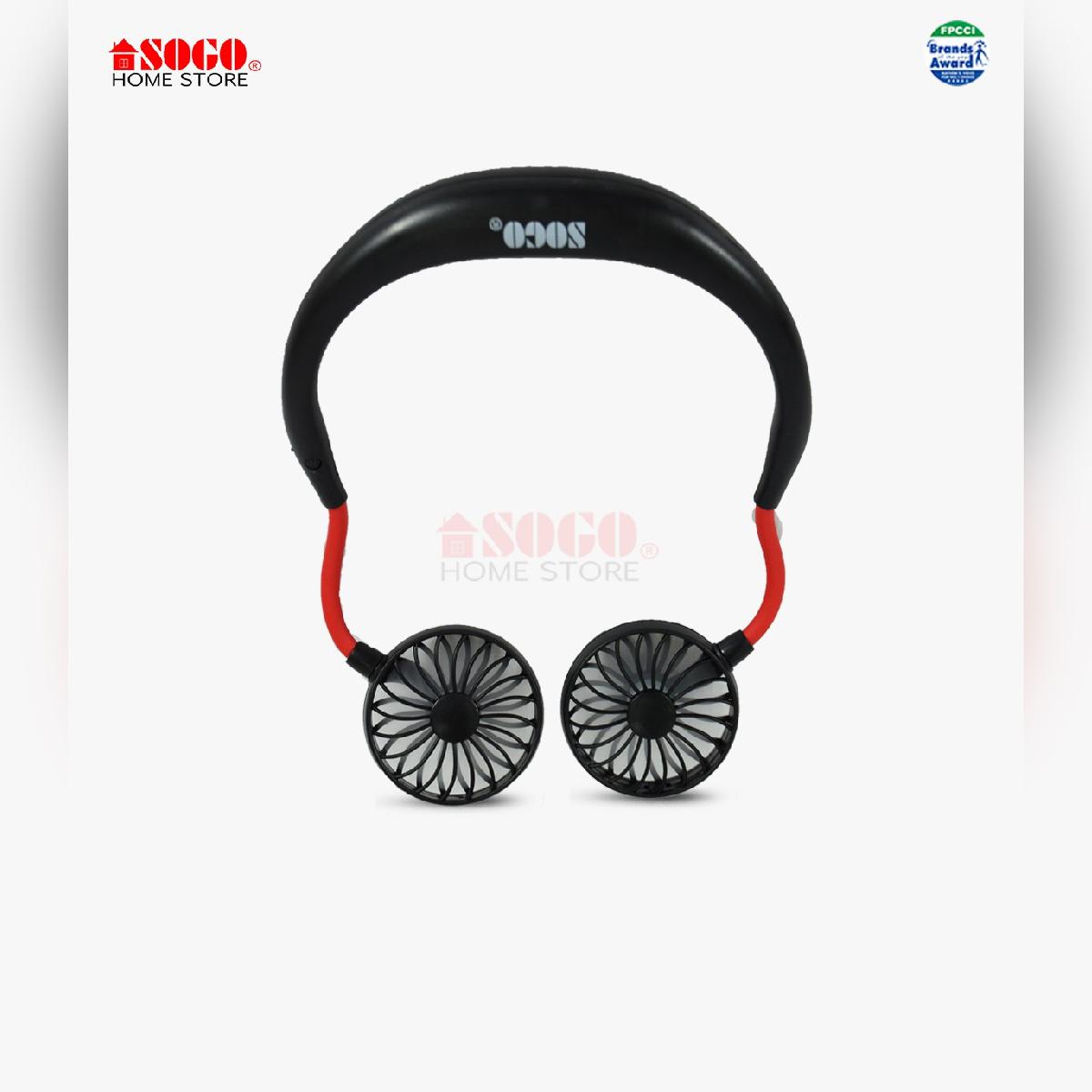 Sogo Usb Rechargeable Neck Fan (jpn-1020)