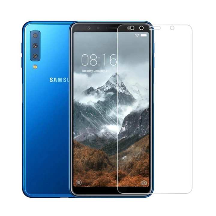 2.5D 0.26mm 9H Premium Tempered Glass For Samsung Galaxy A7 (2018) Screen Protector protective film For Samsung Galaxy A7 2018