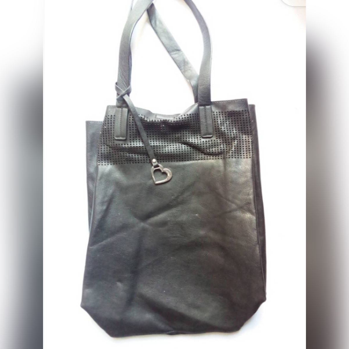 Imported Leather Hand Carry Bag / Luggage