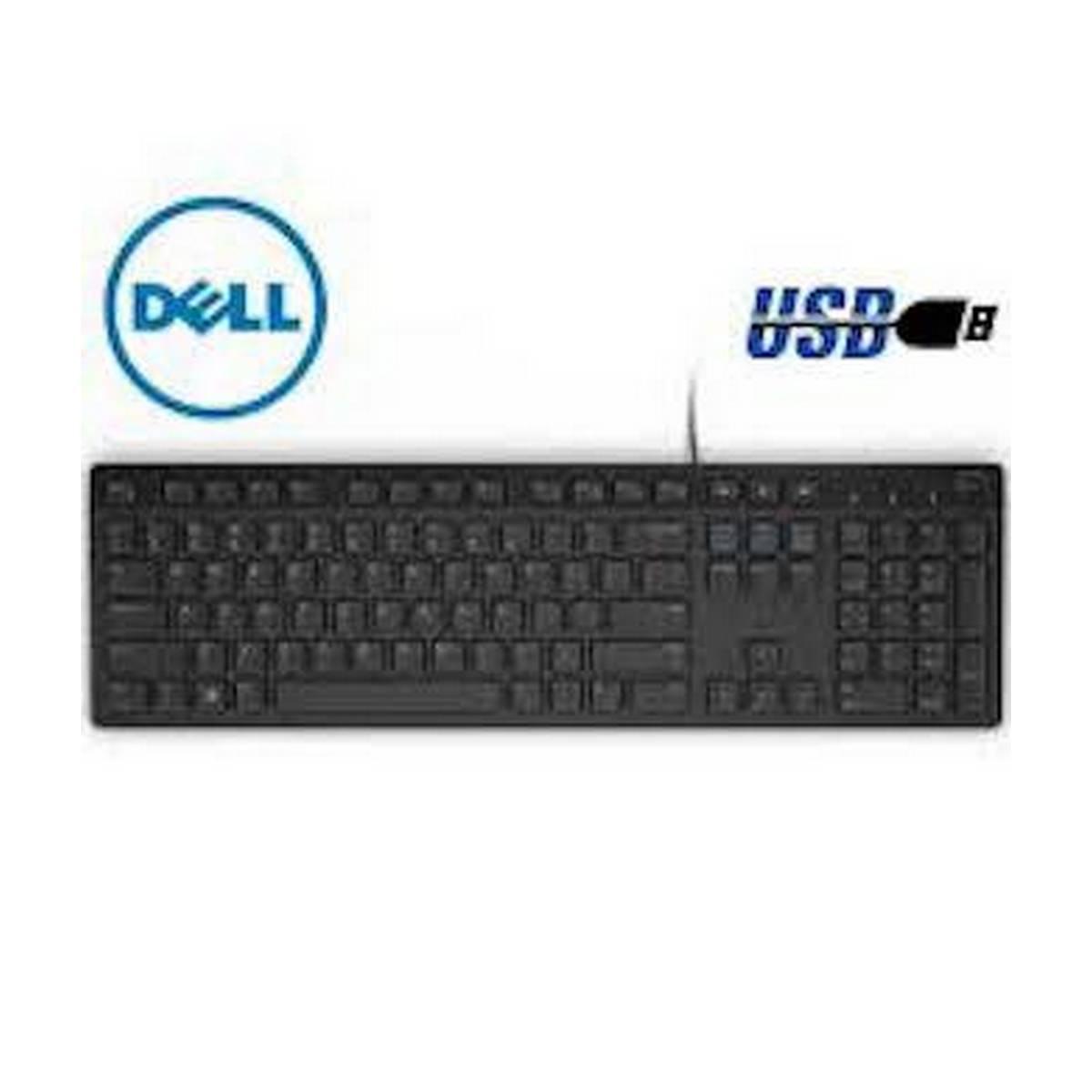 Kb216 Wired Usb - Multimedia Keyboard (Black) [used]