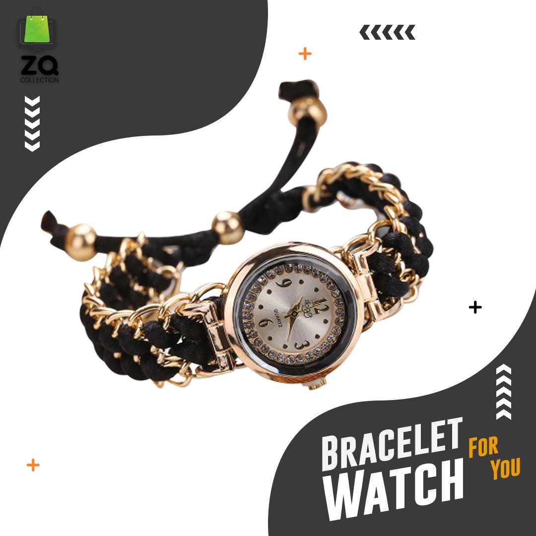girls analog Handmade Bracelet Watch