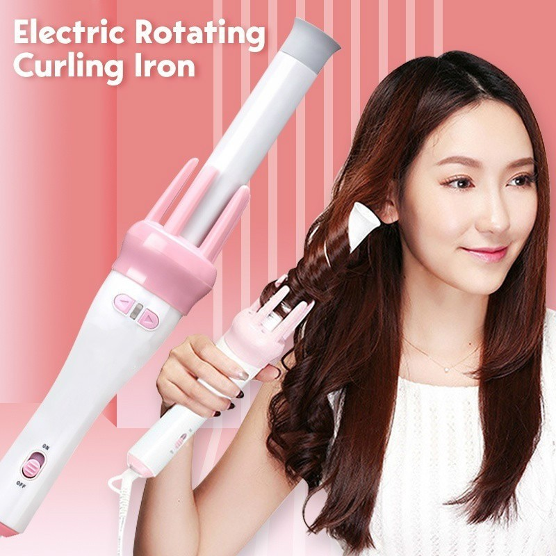 Automatic Hair Curler Spin 360° Rotating Hair Styling Roller: Buy Online at  Best Prices in Pakistan | Daraz.pk