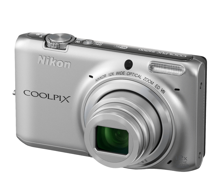 COOLPIX S6500 Wi-Fi Digital Camera with 12x Zoom