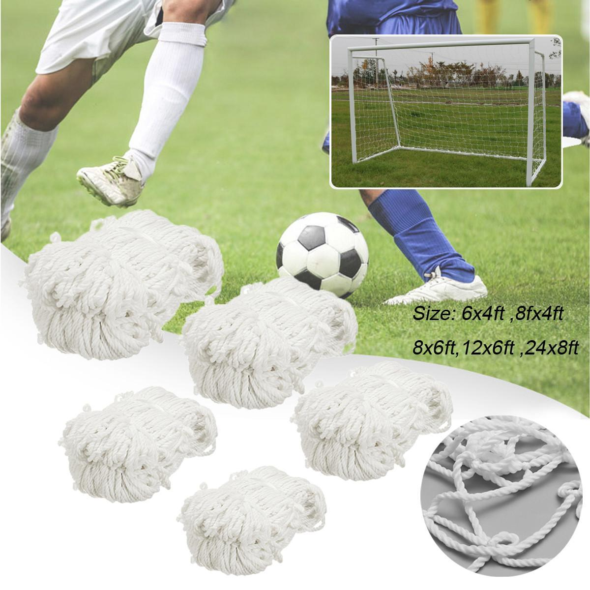 117e7c6bd Football Soccer Goal Post Net Training Match Replace Outdoor Full Size  Adult Kid