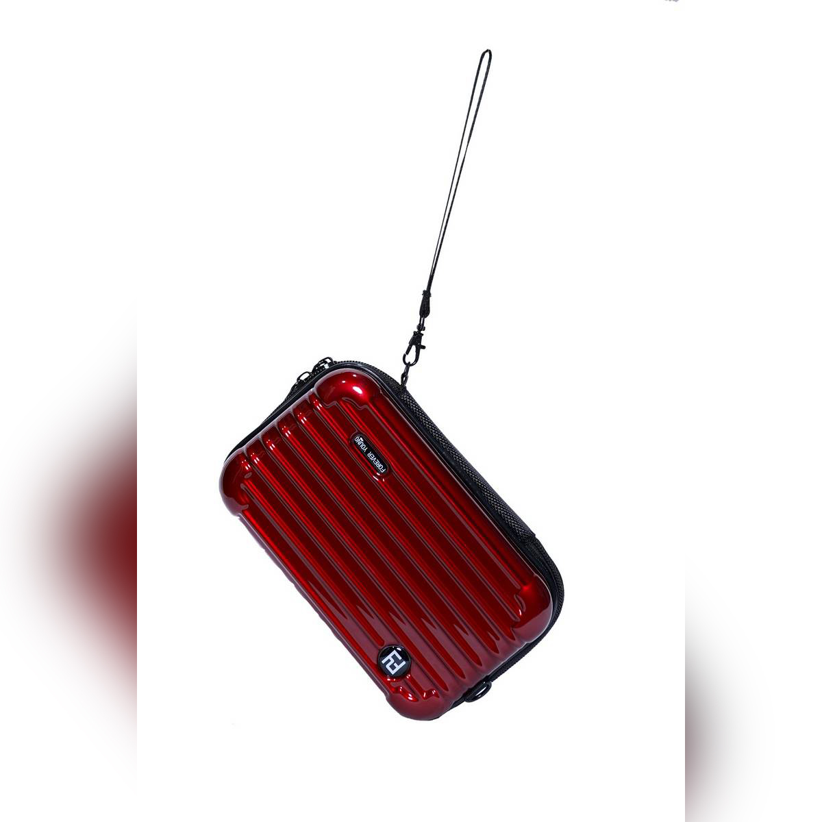 Toiletry / Utility Mini Amenity Case for Accessories - Red