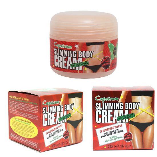 Capsicum Slimming Cream, Fat Burn, Slim Down Your Body Cream
