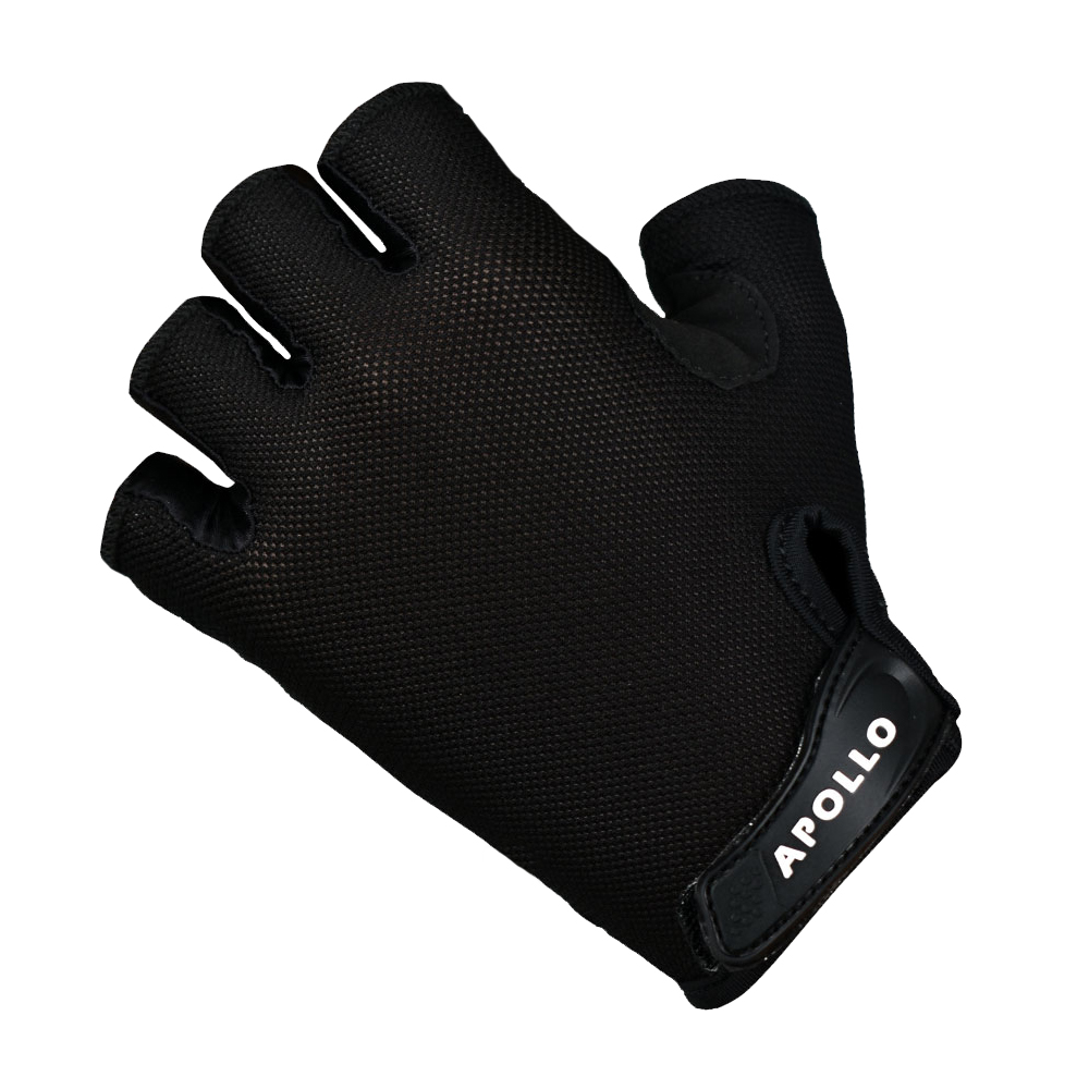 APOLLO WEIGHT LIFTING GYM TRAINING GLOVES FOR SPORTS AND CYCLING WITH WRIST WRAP AND WITHOUT WRIST WRAP FOR SAFETY