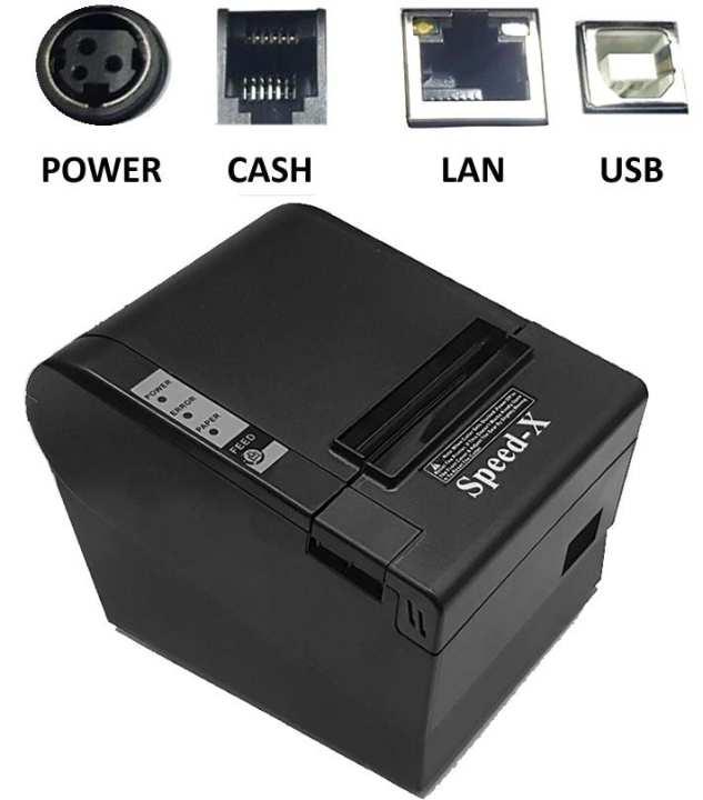 Speed-X 200 Plus Thermal Receipt Printer Usb+Lan
