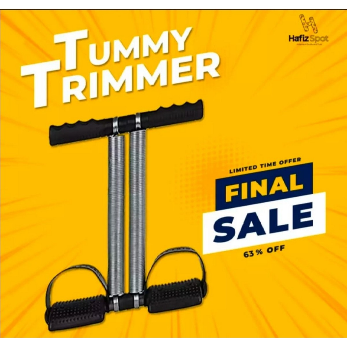 High Quality Tummy Trimmer Double Spring Exercise Home Gym
